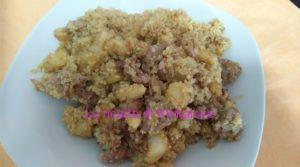 Quinoa con finocchio e salsiccia