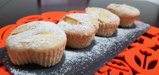 Muffin mela e zenzero vegan senza nichel