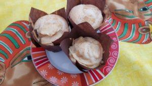 muffin vegan mela e limone