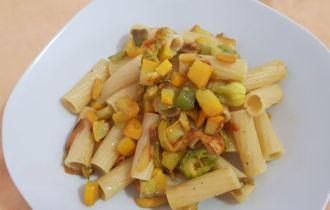 rigatoni zucchina gialla