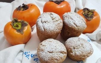 muffin ai cachi senza nichel e burro