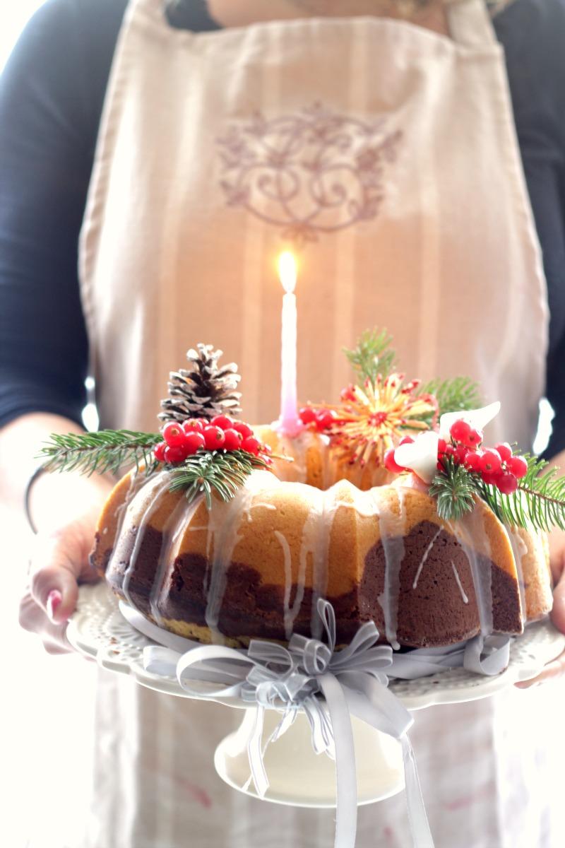 bundt cake variegata