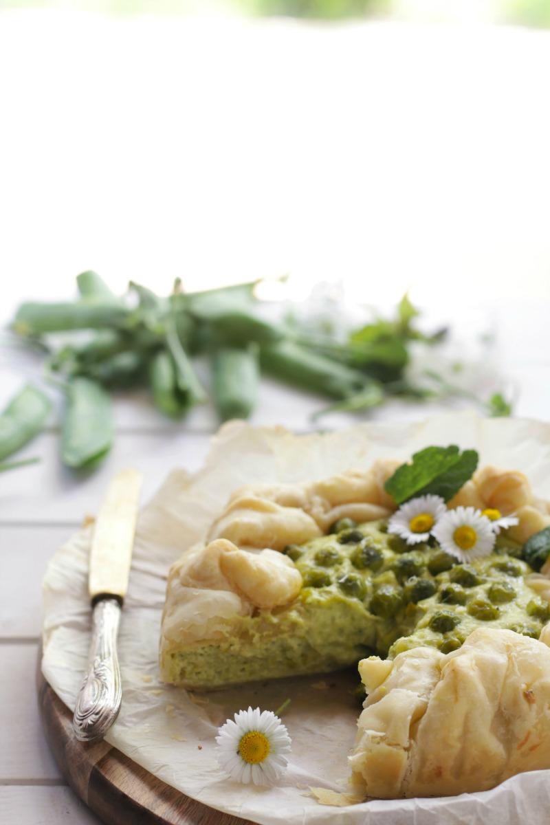 torta salata piselli2