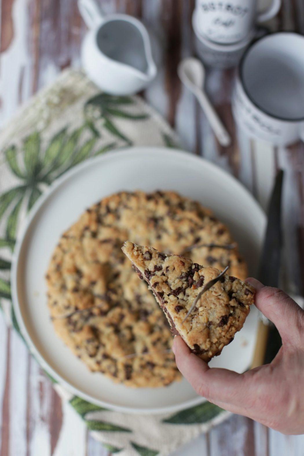 come fare la torta cookies