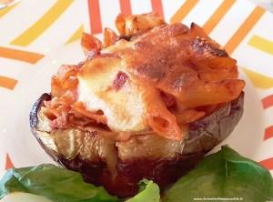 gusci-di-melenzane-ripiene-300x222 Gusci di melenzane ripiene di pasta al forno