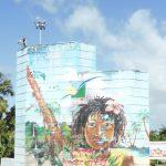 Peinture urbaine Pointe à Pitre