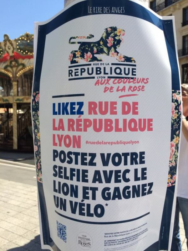 Le Festival de la Rose, Lyon