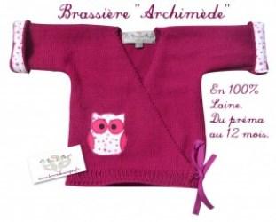 brassiere laine girl