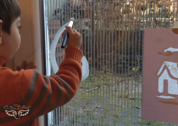 Deco de fenêtre facile à nettoyer