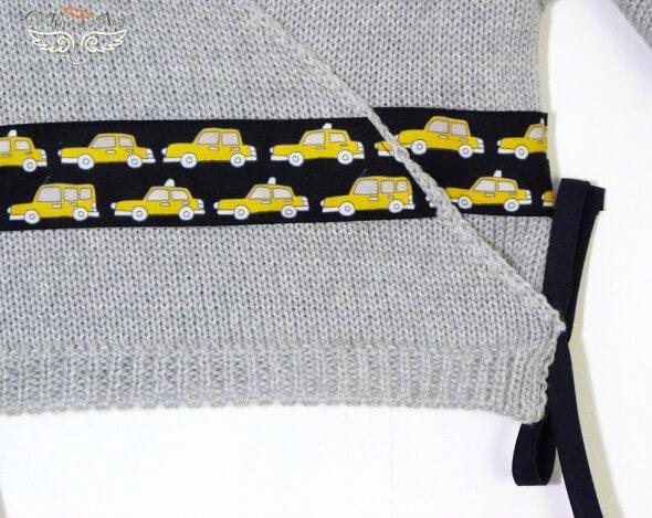 Brassiere bebe Yellow cab
