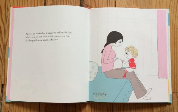 parler de la grossesse avec son aine