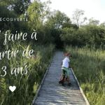 Balade en famille en Nord Isère à partir de 3 ans!