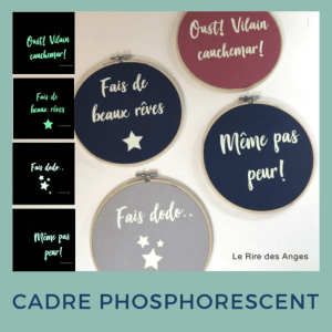 Cadre phosphorescent