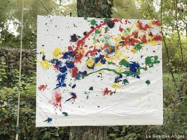 peinture lancer oeufs