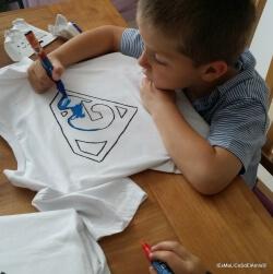 t-shirt personnalisé pour la fête des pères
