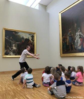 le cri des animaux au musée