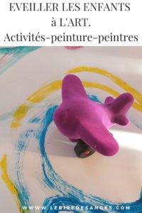 activites peinture peintres art pour enfant