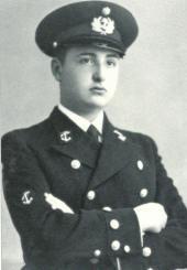 Escola Naval, setembro de 1937 - Jorge de Sena, cadete de Marinha