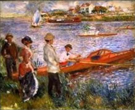 Fig. 1 – Remadores em Chatou, de Pierre Auguste Renoir.