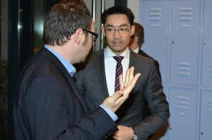 Sachar Kriwoj trifft Philipp Rösler
