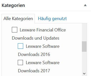 Lexware Download Update 2016 oder 2017 als ESD Version