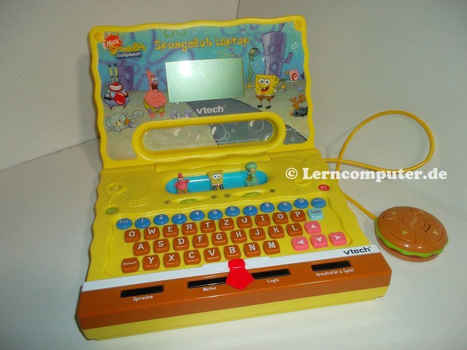 vtech spongebob laptop lerncomputer. Black Bedroom Furniture Sets. Home Design Ideas