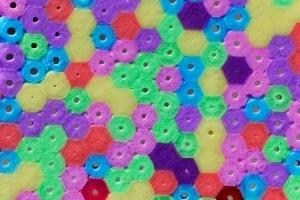 7 Perlen Untersetzer Walzenperlen Bugelperlen Handarbeit Set 6 1
