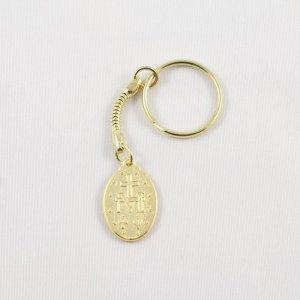 porte-clefs médaille miraculeuse-revers