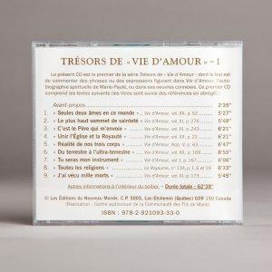trésors de vie d'amour 1b-cd