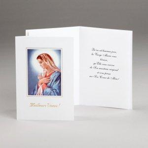carte mariale meilleurs voeux