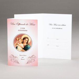 carte offrande de messe-notre-dame du clergé
