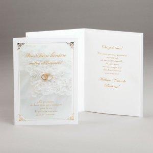 carte fiançailles ou mariage-promesse éternelle