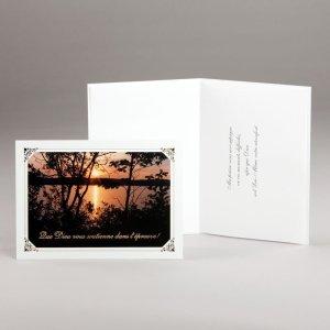 carte épreuves diverses-coucher du soleil