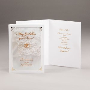engagement or wedding card-eternal promise