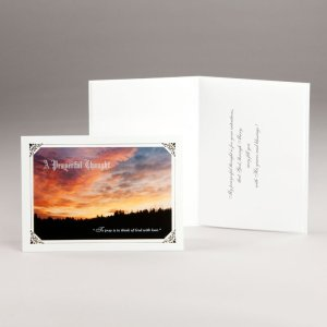 all occasion card-sky ablaze with color