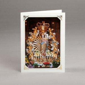 card with assorted photos-mary auxiliatrix