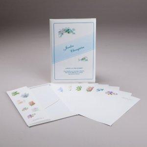 papier à lettres - jardin champêtre