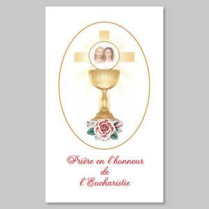 prière en l'honneur de l'eucharistie