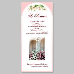 le rosaire en images - feuillet de prières