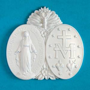 miraculous medal medallion
