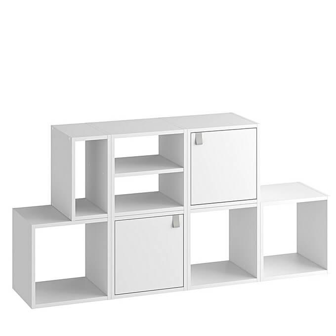 tablette etagere pour case kub blanc long 31 5 x larg 31 5 x epaisseur 1 6 cm
