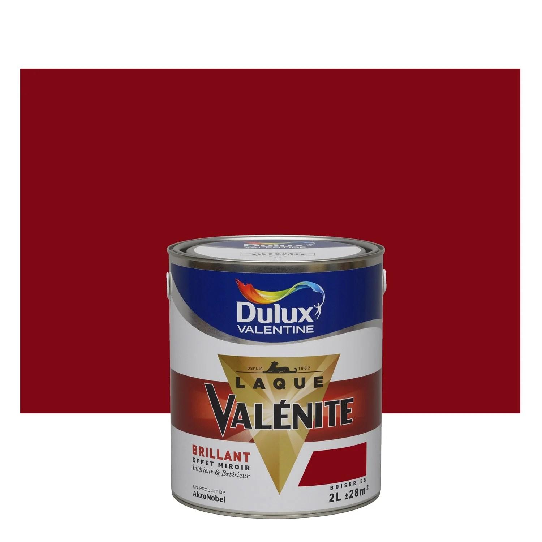 Peinture Rouge Basque DULUX VALENTINE Valnite 2 L Leroy