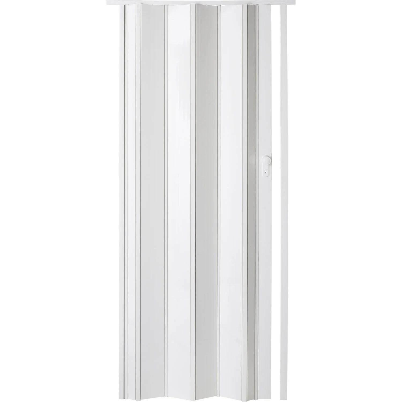 Porte Extensible Ibiza Blanc Brillant 205 X 85 Cm Pais