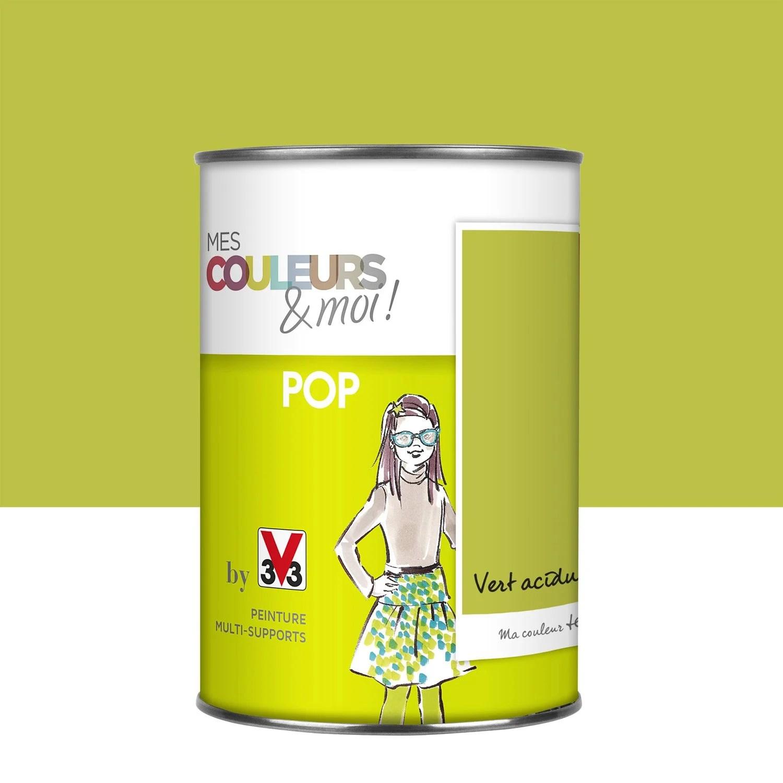 Good Peinture Vert Acidul V Mes Couleurs Et Moi Pop L