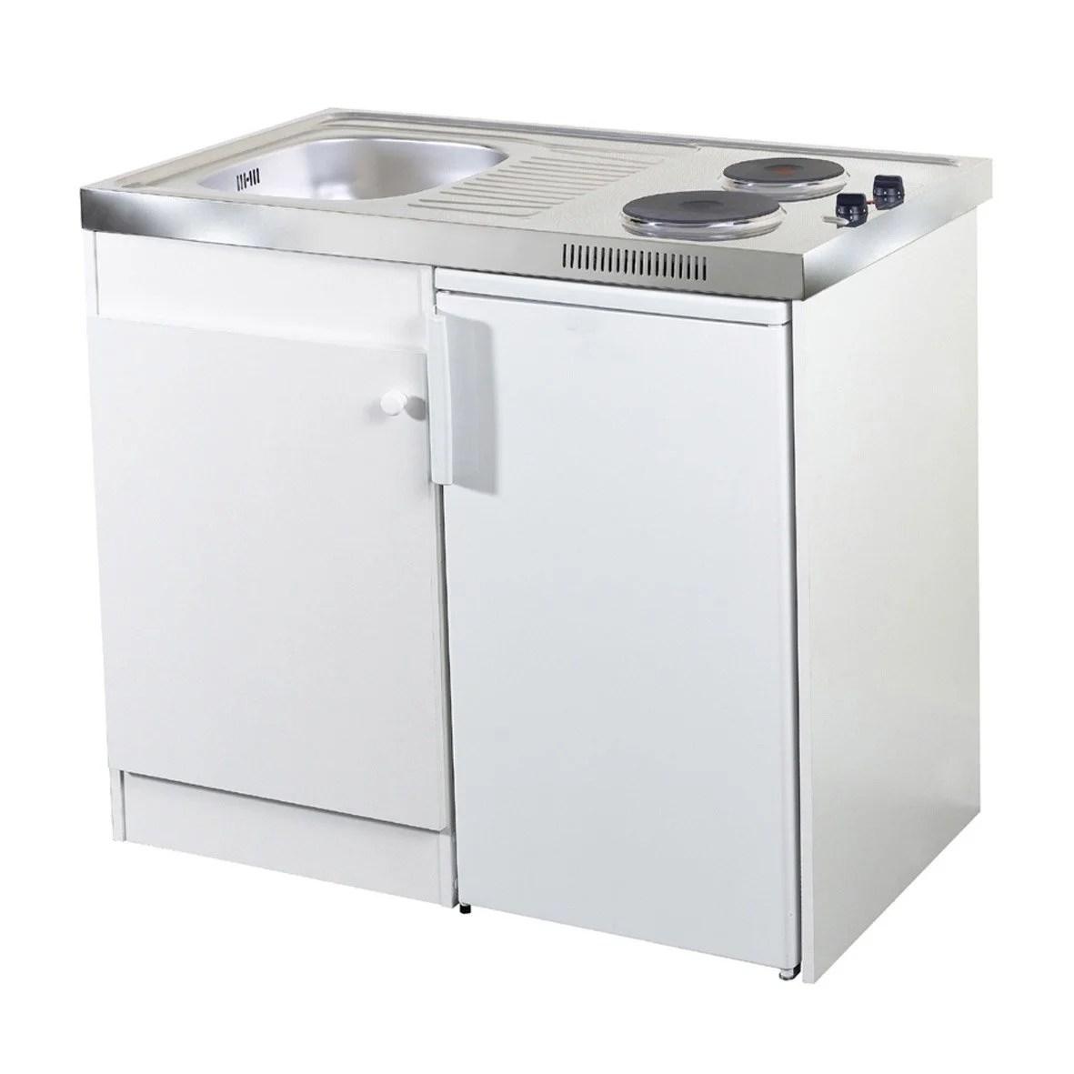 Kitchenette Electrique Blanc Spring H925 X L100 X P60