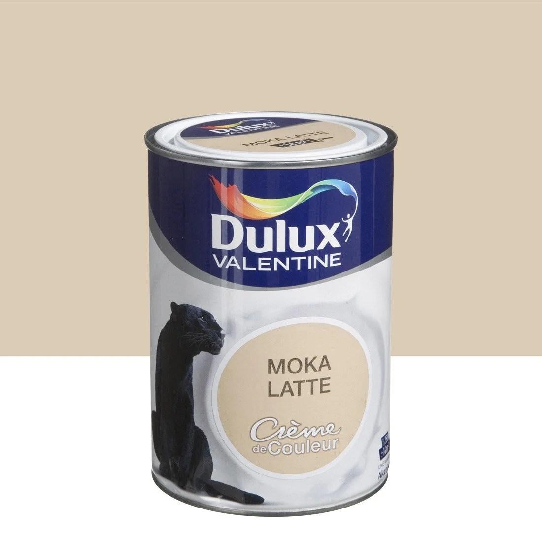 Peinture Brun Moka Latte DULUX VALENTINE Crme De Couleur