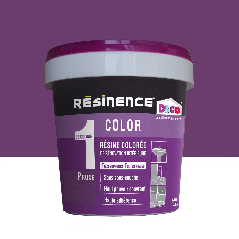 Rsine Colore Color RESINENCE Violet Prune 025 L