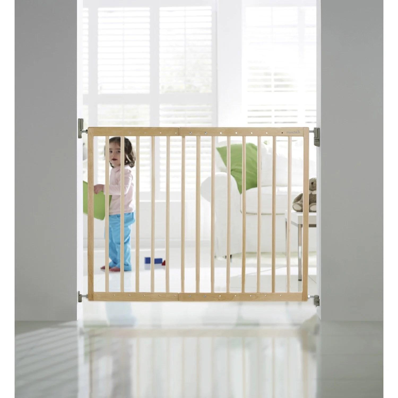 Barrire De Scurit Enfant MUNCHKIN Bois L635106 Cm