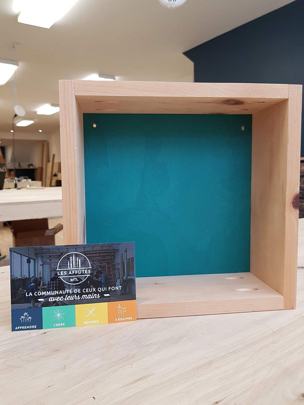 fabriquer une etagere simple decorative