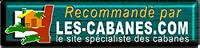 recommandé par les-cabanes.com